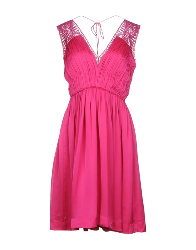 Deane Length Knee Catherine Fuchsia Dresses CHqg87wB