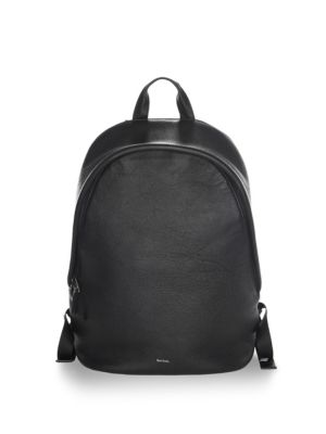 Black Paul Backpack Leather Textured Smith IaaqwAp