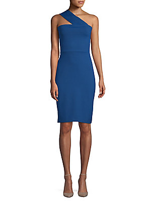 Susana Monaco Tara Knee Length Dress Azul E1J5LI
