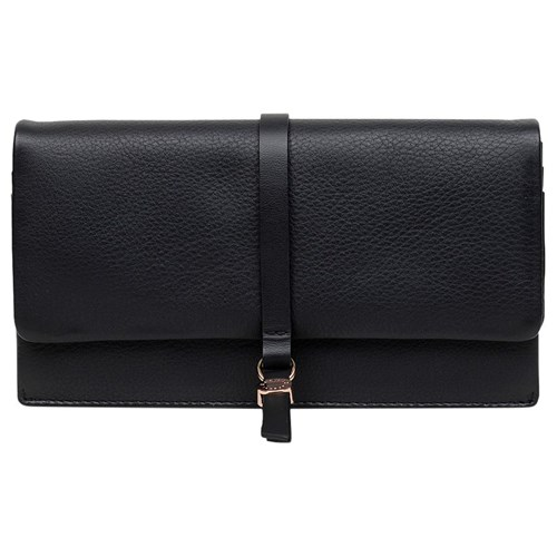 Radley Flapover Road Large Black Merton Leather Purse P6PrxFqn