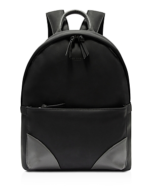 Ted Baker Faux Nubuck Backpack Black 3P0sWKYzs