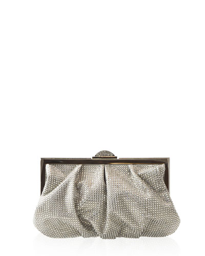 Judith Leiber Bag Bead Full Foiled Clutch Natalie Ch Champagne pr1dqwYWp