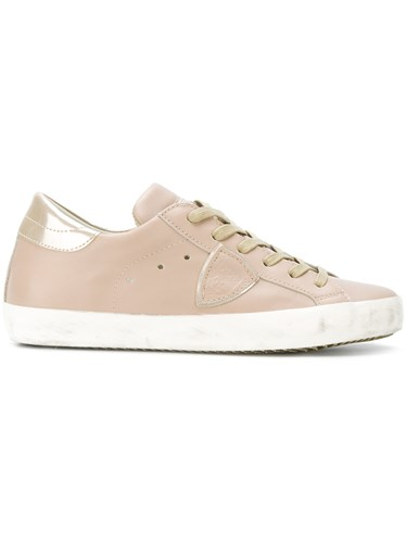 Philippe Model Paris Sneakers Leather Rubber Nude Neutrals FsIGw