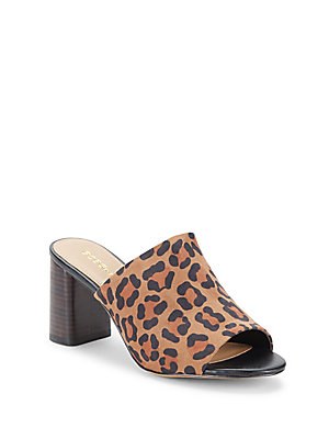Print BCBGeneration Multi Mules Brown Beverly Leopard qESER0