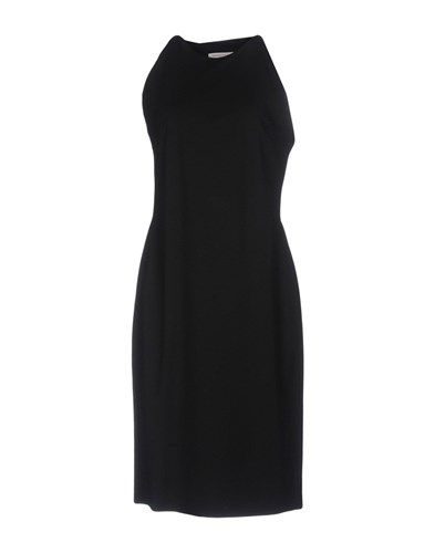 Length Knee Dresses STEELE Black LAWRENCE xawHqO