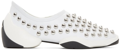 Light Giuseppe Zanotti Jump Sneakers Studded White wz0tqRrgz