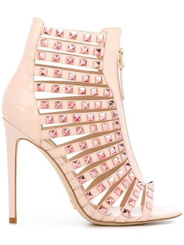 Gianni Studded Renzi Sandals Pink Purple av7far