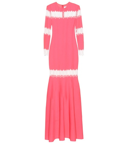 Huishan Zhang Long Sleeved Dress Pink c95jIio