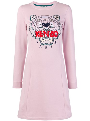 Embroidered Pink Kenzo Purple Tiger Dress And aYPP5qw