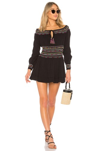 Majorelle Carly Marie Dress Black NInUPtDx2