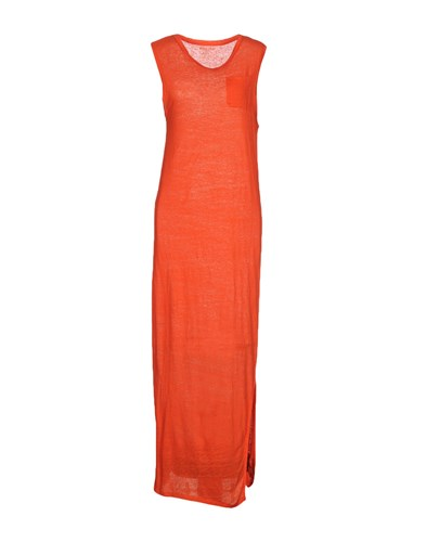 Orange Long Majestic Majestic Long Majestic Dresses Orange Long Dresses Cqw7Pq1xA