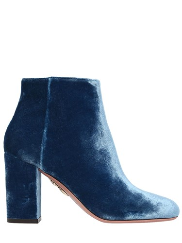 Velvet Aquazzura Boots Brooklyn 85Mm Ankle w7pZAxqv