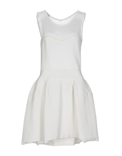 Pinko Short Dresses White FfdsYY