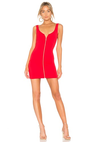 Lovers + Friends Brinley Dress Red cCZCy