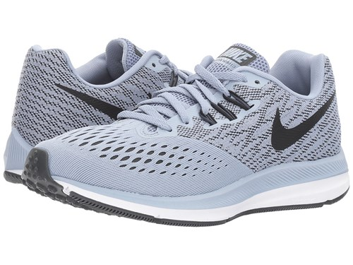 Running Anthracite Nike Glacier Shoes White Air Zoom Women's Gray Grey Winflo 4 Black Txv6qOT