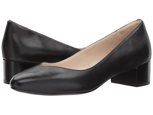 Cole Haan Yuliana Pump Black Leather Women's Shoes T12K6s