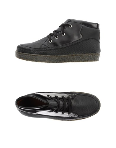 Trussardi Sneakers Black AdJOTz8
