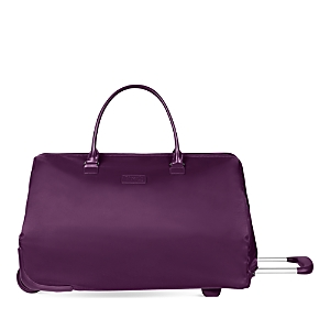 Paris Plume Bag Wheeled Purple Lipault Lady UqCzwE