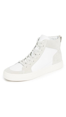Vince Kameron High Top Sneakers White khB9j