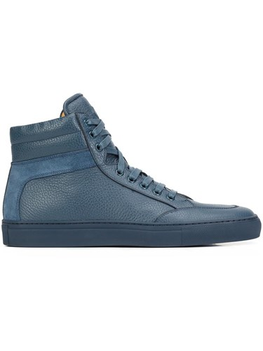 Koio Collective 'Primo' Hi Top Sneakers Blue rXKRy0