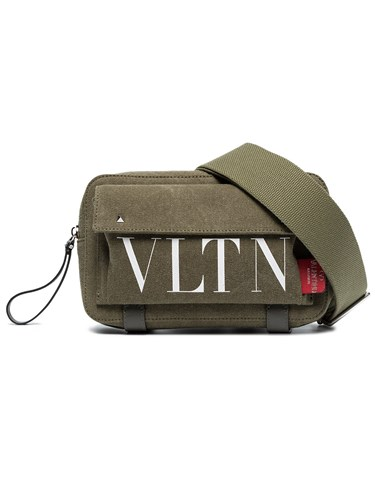 Body Vltn Valentino Cross Logo Bag Green qp6zwzUS