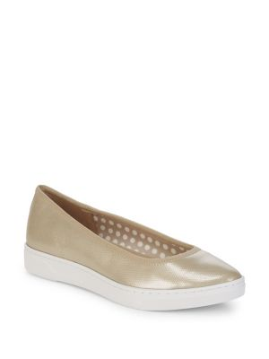 Anne Klein Over The Top Mesh Sneakers Gold f2pbHZd