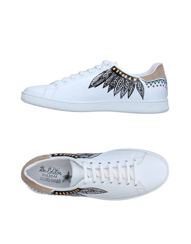 The Editor Footwear Low Tops And Sneakers White oZOYoX