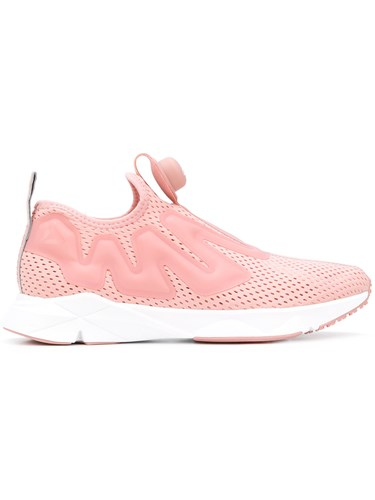Reebok Perforated Sneakers Pink And Purple s3zIRf0f