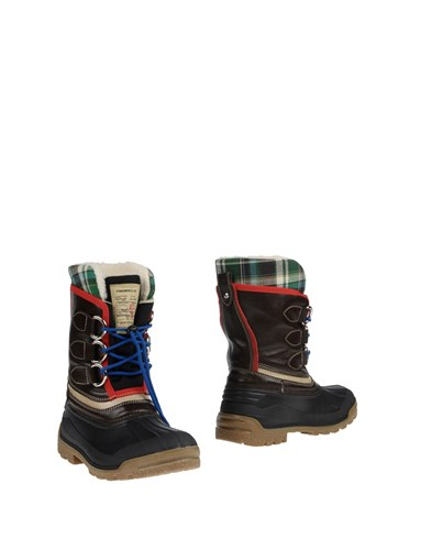 DSquared Dsquared2 Boots Dark Brown JRg6AJOvZ