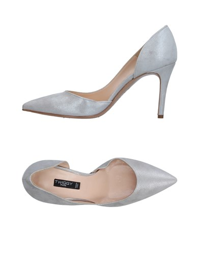 TWIGGY Pumps Light Grey jQu9bj