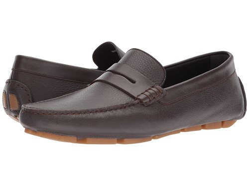 Penny Shoes Canali Slip Brown On Driver Men's 6YWqTd