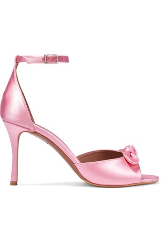 Bow Mimi Simmons Bubblegum Sandals Embellished Satin Gbp Tabitha Eq5TSgwg