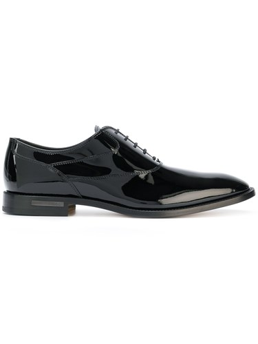 Tod's Classic Oxford Shoes Black tpGTVnsbA