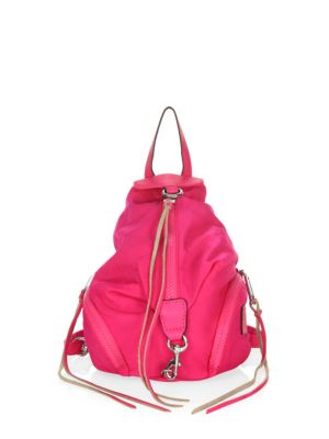 Leather Print Magenta Blue Camo Julian Minkoff Iris Backpack Rebecca Black Mini Convertible 1TIzAq