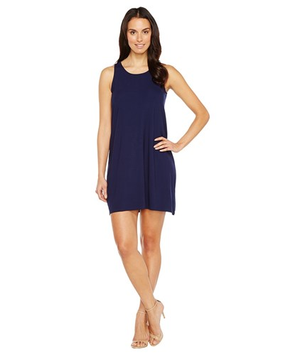 Lilla P Tie Back Dress Navy pInn6l