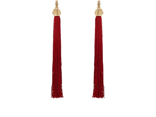 Loulou Earrings Red