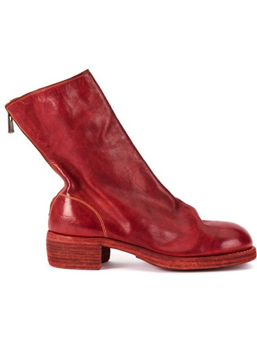 Guidi Soft Zipped Boots Red KTKSzMsBH