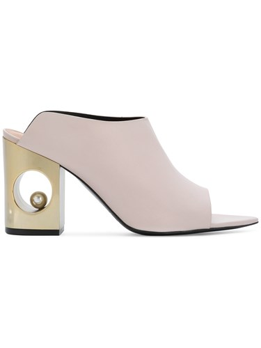 Coliac Sphere Heel Mules Pink And Purple mDGeTWaEYP
