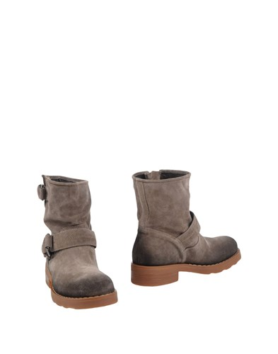 O.x.s. Ankle Boots Light Grey W0q2eh9C3