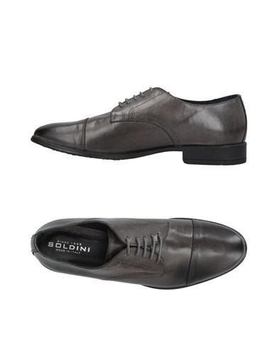 SOLDINI Lace Up Shoes Lead VNHwdu