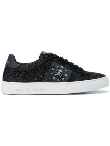 Jewels Black Philipp Sneakers Plein Low Top 5Rqw6qS