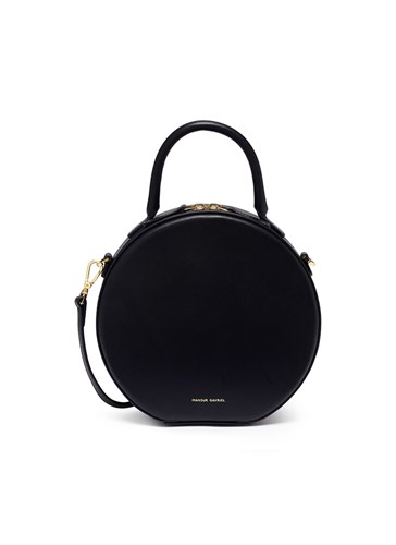 Mansur Gavriel 'Circle' Leather Crossbody Bag Black 8zR0P