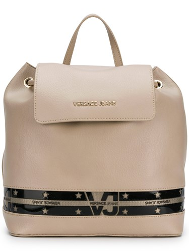 Versace Jeans Star Stripe Backpack Nude And Neutrals B8y2WgM