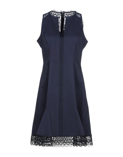 Blue Tahari Short Dark Elie Dresses OYwn4zz