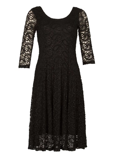 Skater Izabel Perkins London Dress Lace Black Dorothy 0W1BqTngn