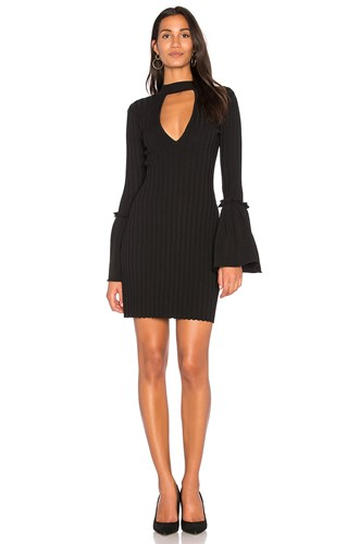 Mind Collective Reader Knit meo Dress Black C qa5TcEWyn
