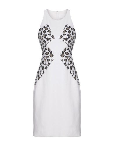Cushnie et Ochs Knee Length Dresses White lvFO9