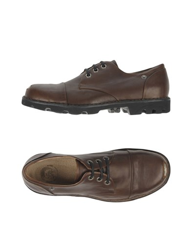 Diesel Lace Up Shoes Dark Brown zV0yMtp1