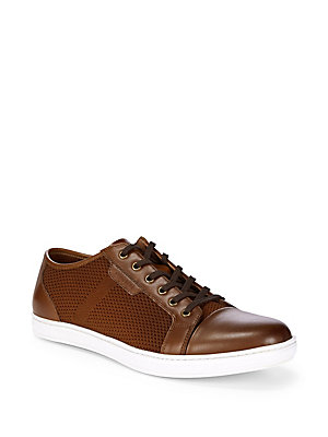 Design Woven Kenneth Cognac Leather Sneakers Cole tftwqS