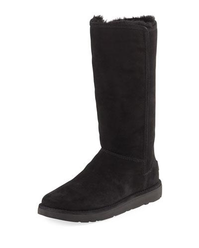 Boot Ii Abree Tall UGG Nero Suede qUwPRWII7
